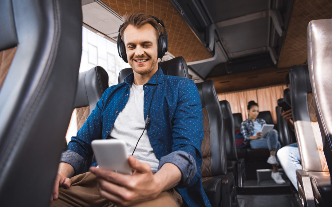 Do Coach or Charter Buses Have WiFi, Charging Outlets, or USB Ports?